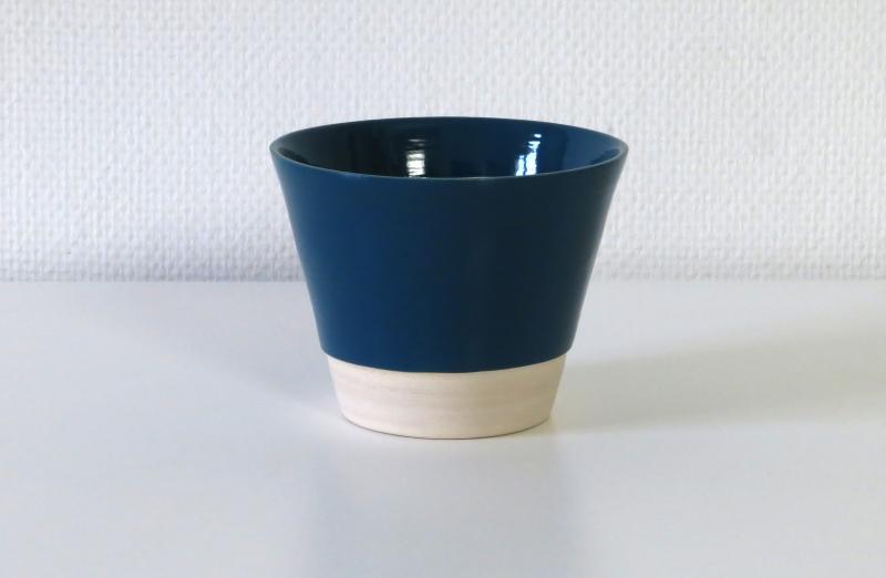 bleu azur cache-pot
